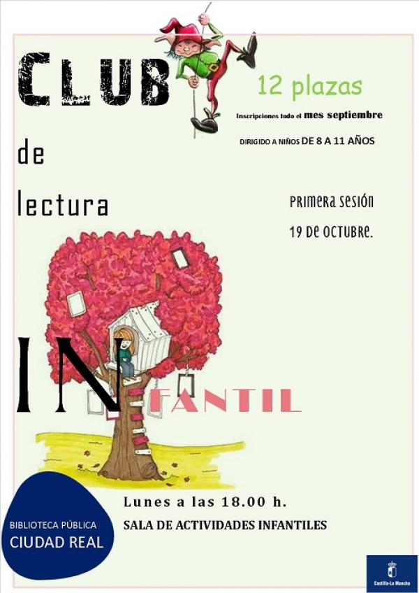 Imagen de la actividad Club Infantil de Lectura y Manualidades