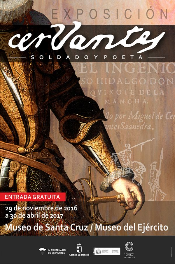 """Imagen de la actividad Gran Exposición """"CERVANTES SOLDADO Y POETA"""""""