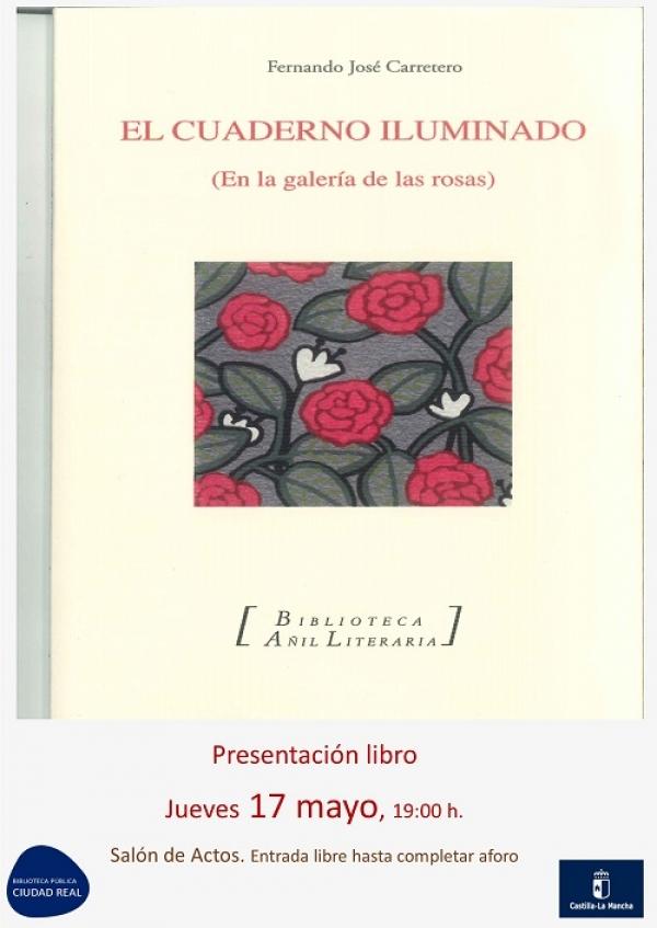 """Imagen de la actividad Presentación del libro """"El cuaderno iluminado"""" de Fernando José Carretero"""