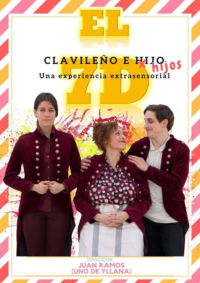 Imagen de la actividad CLAVILEÑO E HIJOS-EL 7D (El Diminuto Teatro Sobre Ruedas)