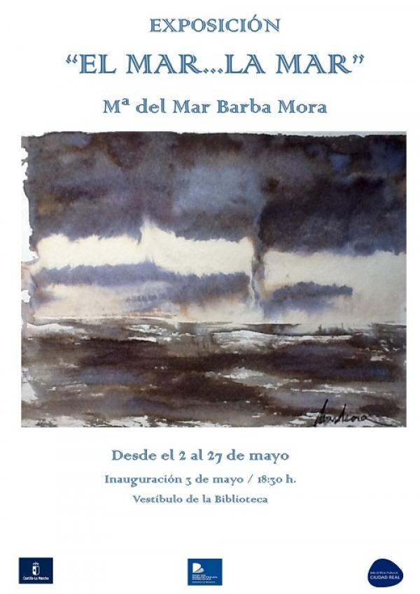 """Imagen de la actividad Exposición :  """"El mar...La mar"""" . Mª del Mar Barba Mora"""