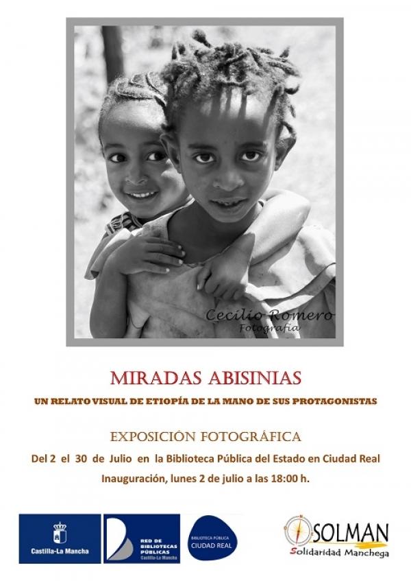 """Imagen de la actividad Exposición fotográfica: """"Miradas Abisinias: Un relato visual de Etiopía de la mano de sus protagonistas"""""""