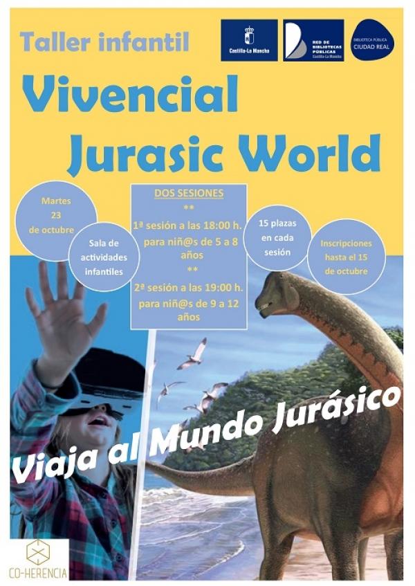 "Imagen de la actividad Taller infantil ""Vivencial Jurassic Worl"""
