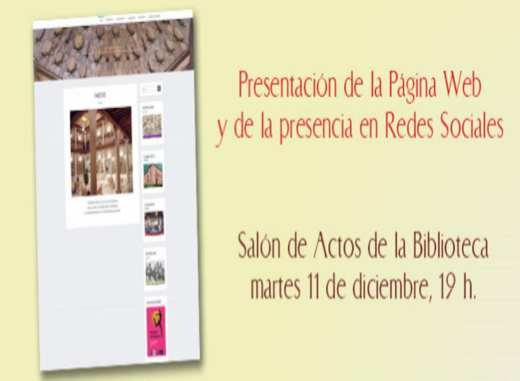Imagen de la actividad Presentación de la página web de la Asociación de Amigos de la Biblioteca
