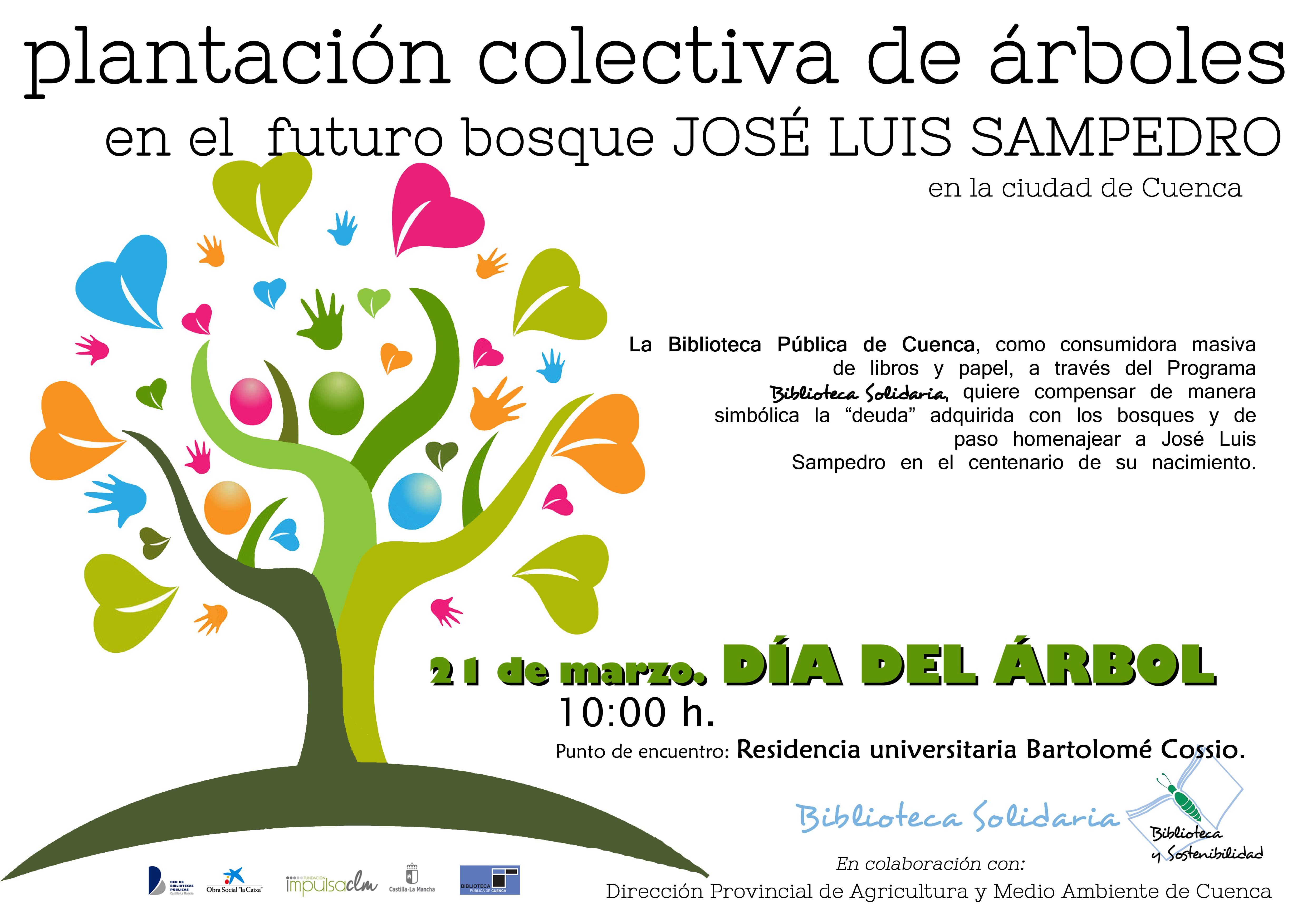 """Imagen de la actividad Plantación colectiva de árboles en el futuro """"Bosque José Luis Sampedro"""""""