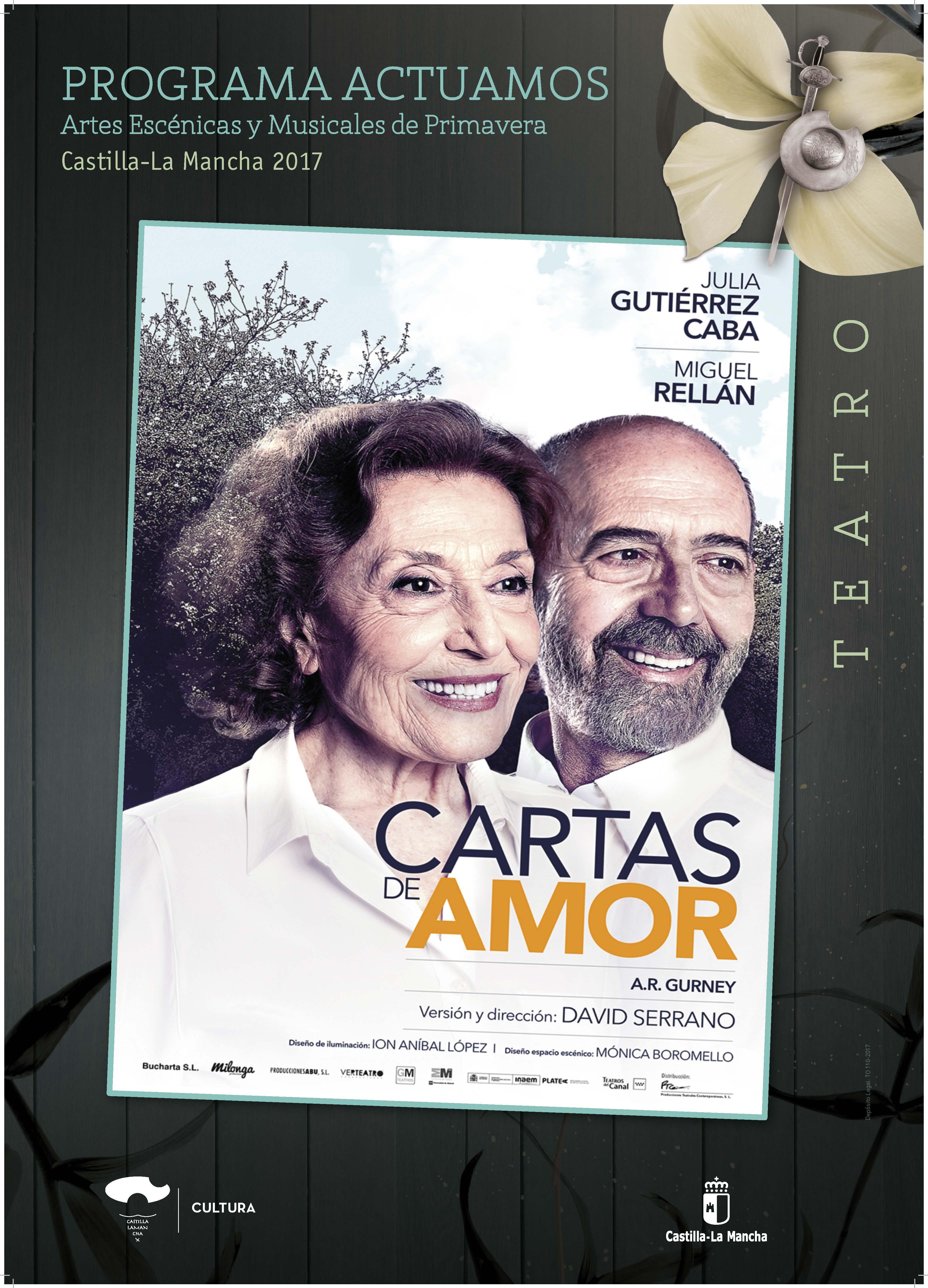 Imagen de la actividad CARTAS DE AMOR (Producciones Teatrales Contemporáneas)