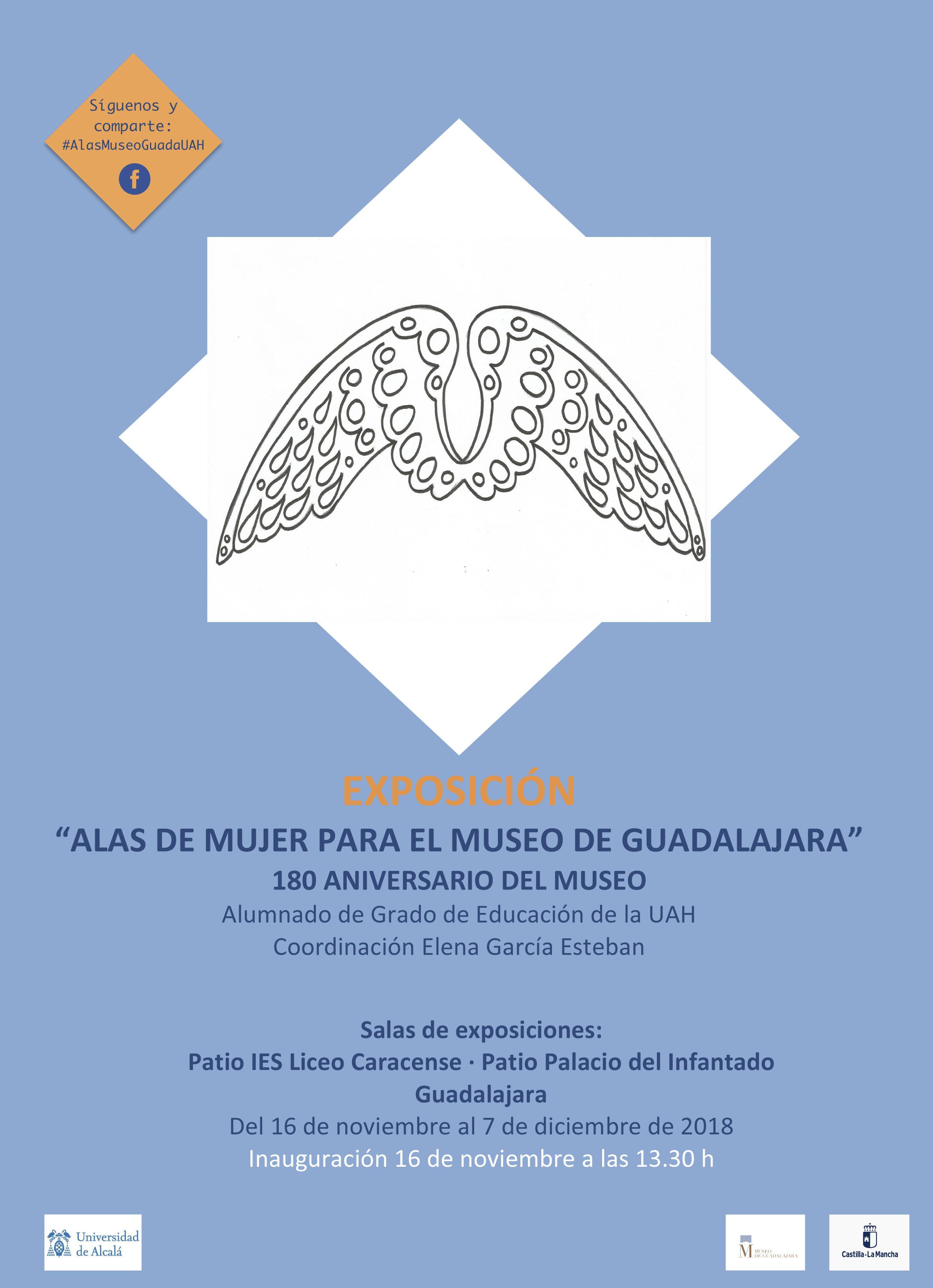"""Imagen de la actividad EXPOSICIÓN TEMPORAL """"ALAS DE MUJER PARA EL PALACIO DEL INFANTADO"""""""