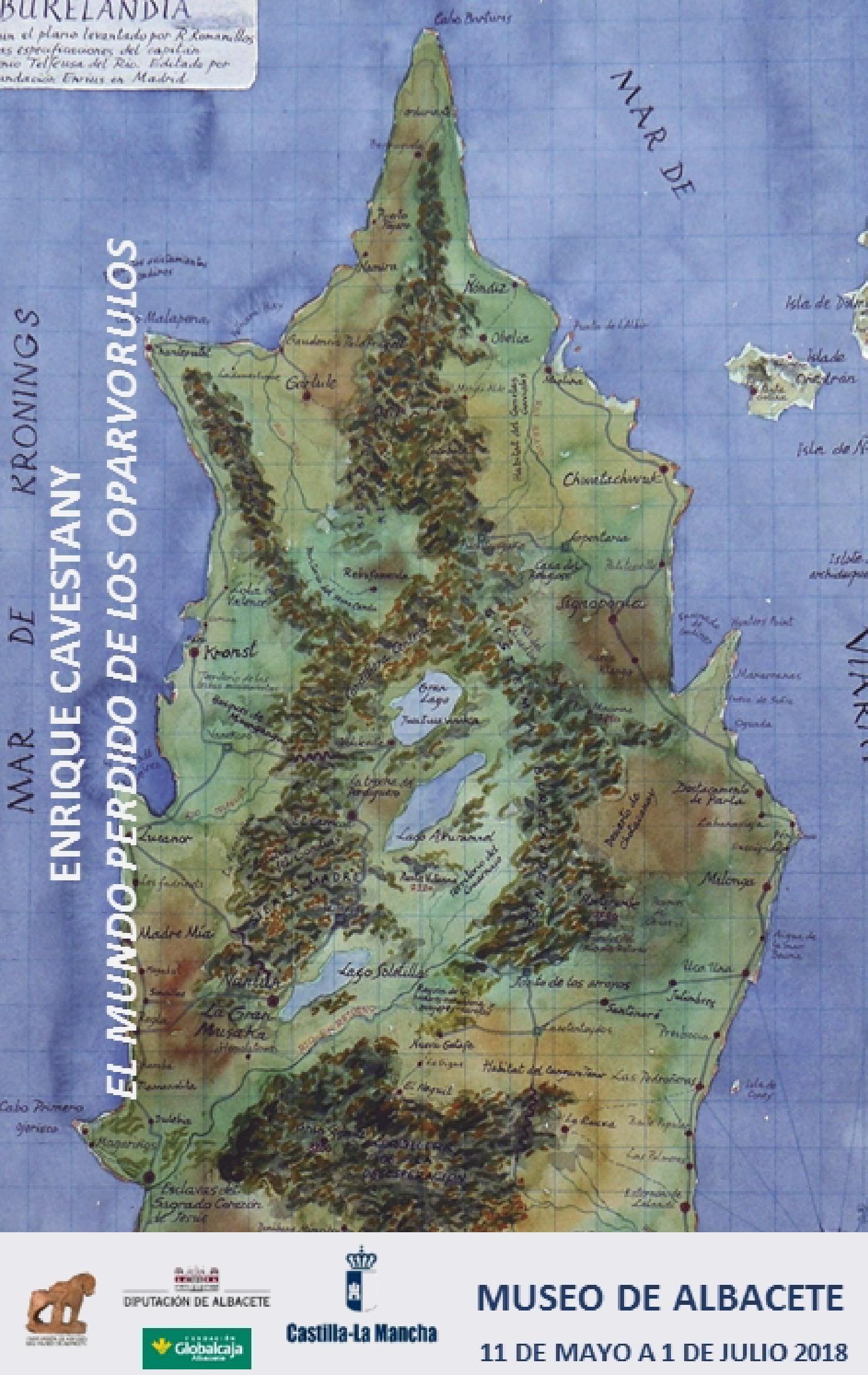 Imagen de la actividad ENRIQUE CAVESTANY. EL MUNDO PERDIDO DE LOS OPARVORULOS