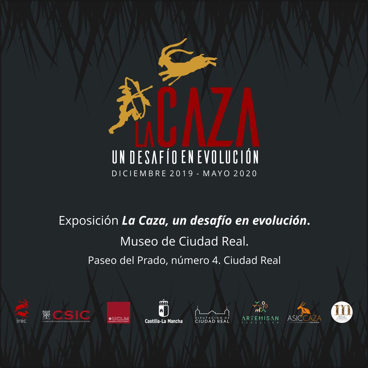 """Imagen de la actividad Exposición temporal """"La caza: un desafío en evolución""""."""