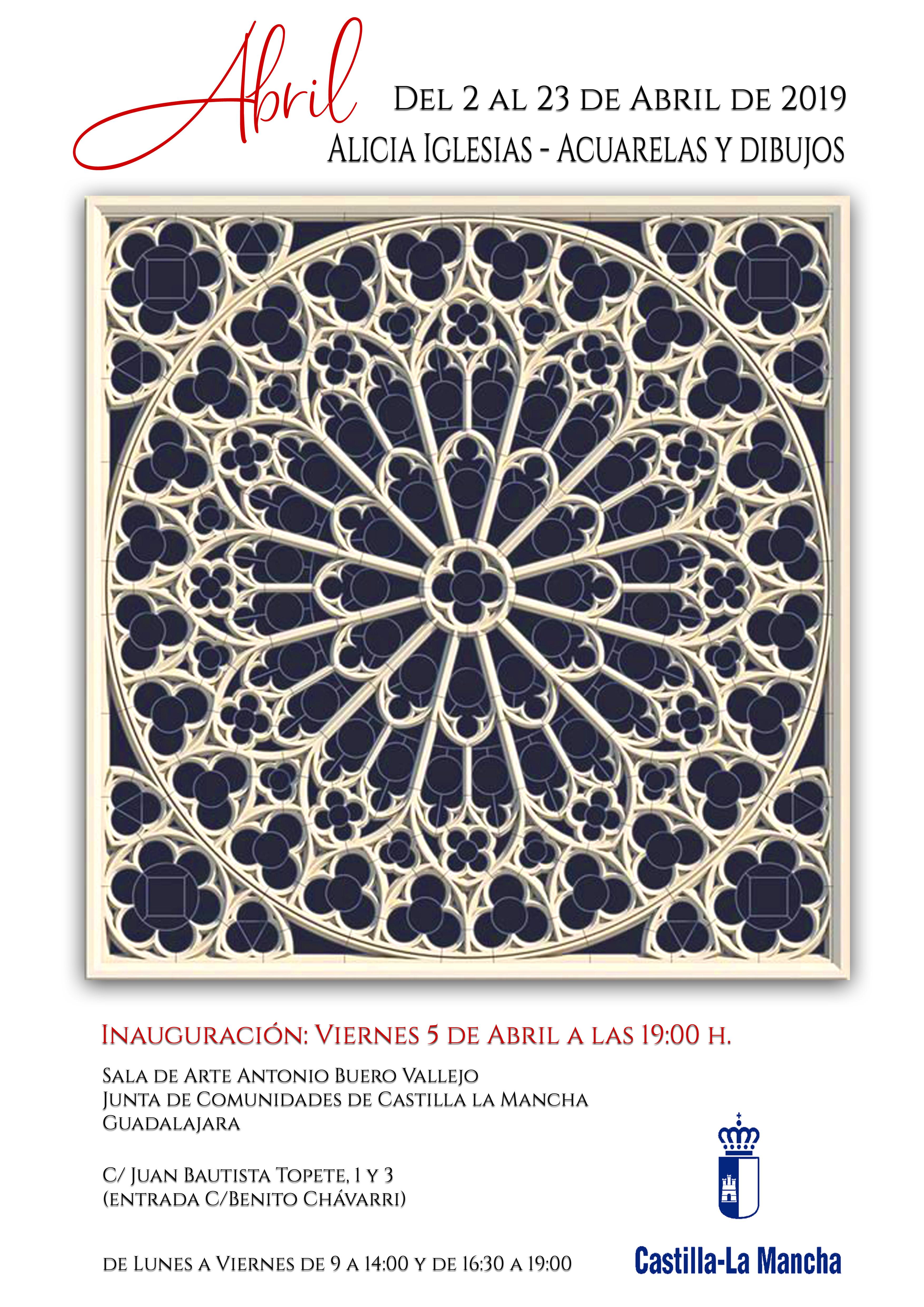 """Imagen de la actividad Exposición Temporal de Alicia Iglesias, """"ABRIL """"  Acuarelas y Dibujos"""