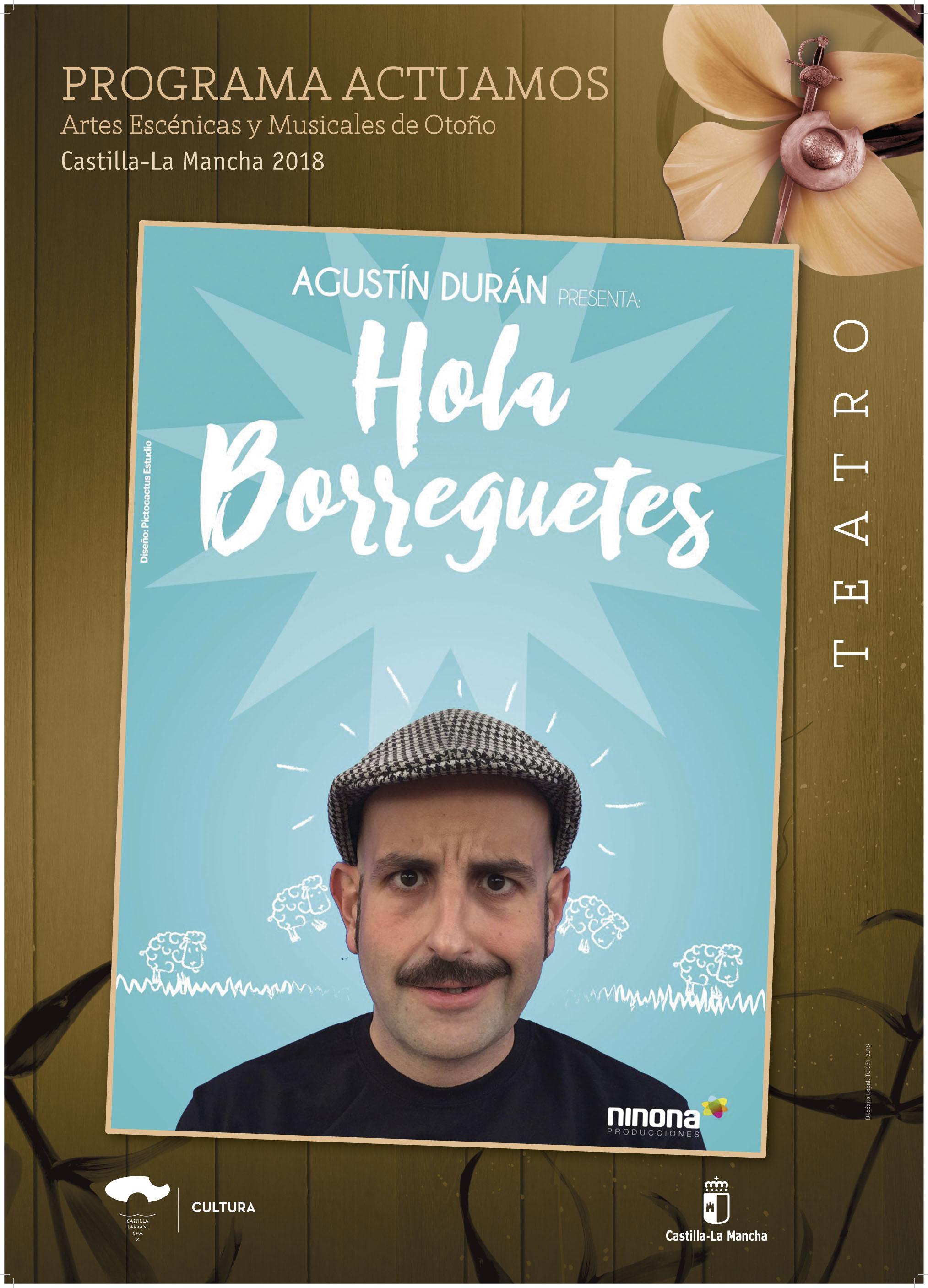 Imagen de la actividad HOLA BORREGUETES (Agustín Durán)