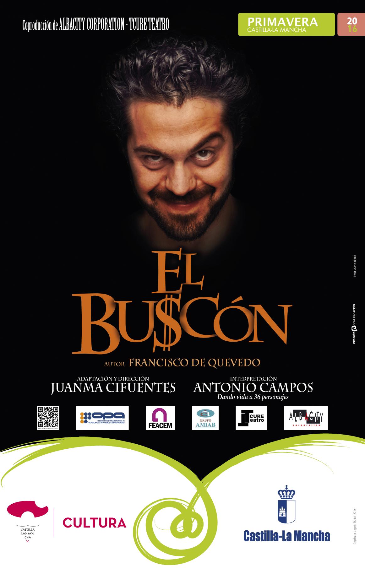 Resultado de imagen de EL BUSCON JCCM