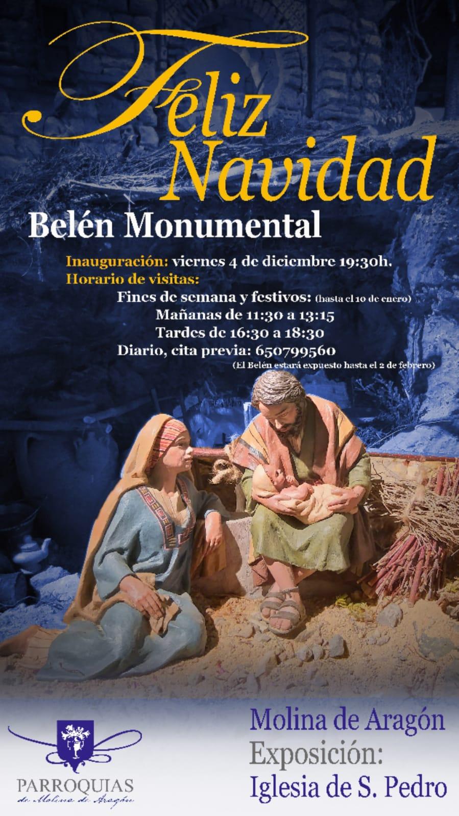 """Imagen de la actividad Exposición Temporal """"Belén Monumental. Molina de Aragón"""""""