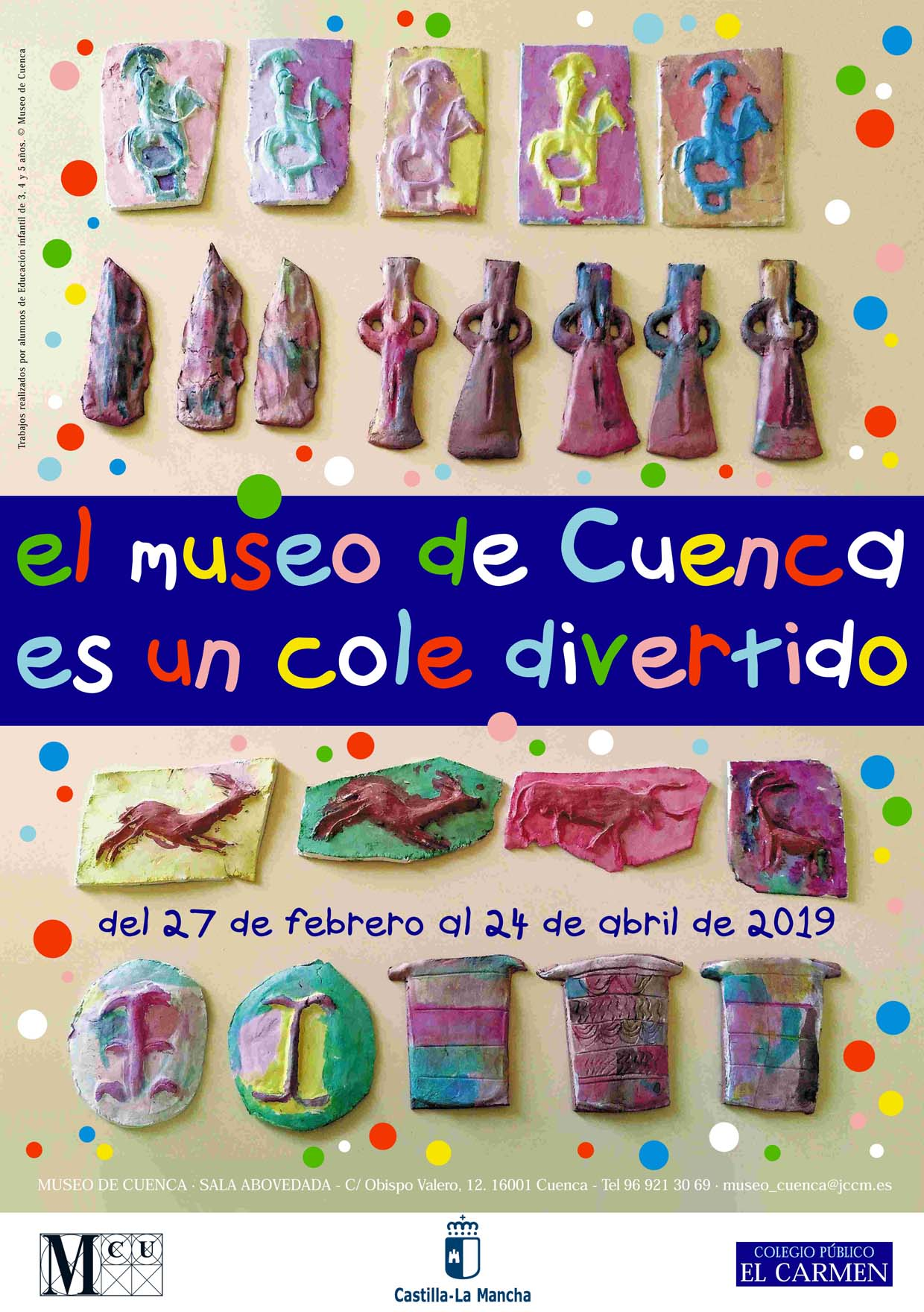 """Imagen de la actividad Exposición """"El Museo de Cuenca es un cole divertido"""""""
