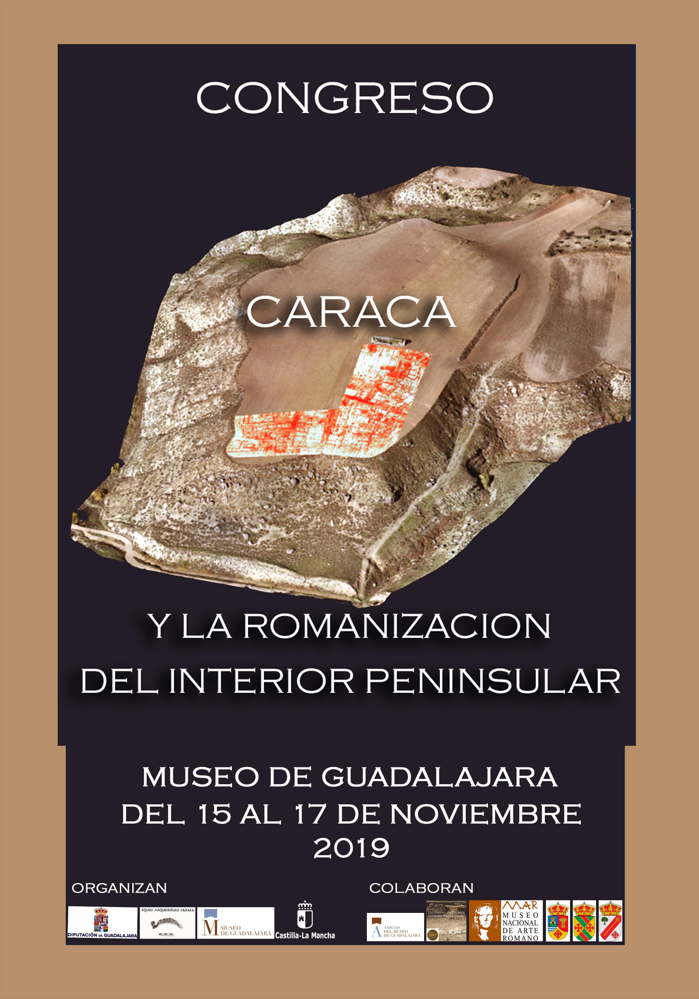 """Imagen de la actividad CONGRESO """"CARACA Y LA ROMANIZACIÓN DEL INTERIOR PENINSULAR"""""""