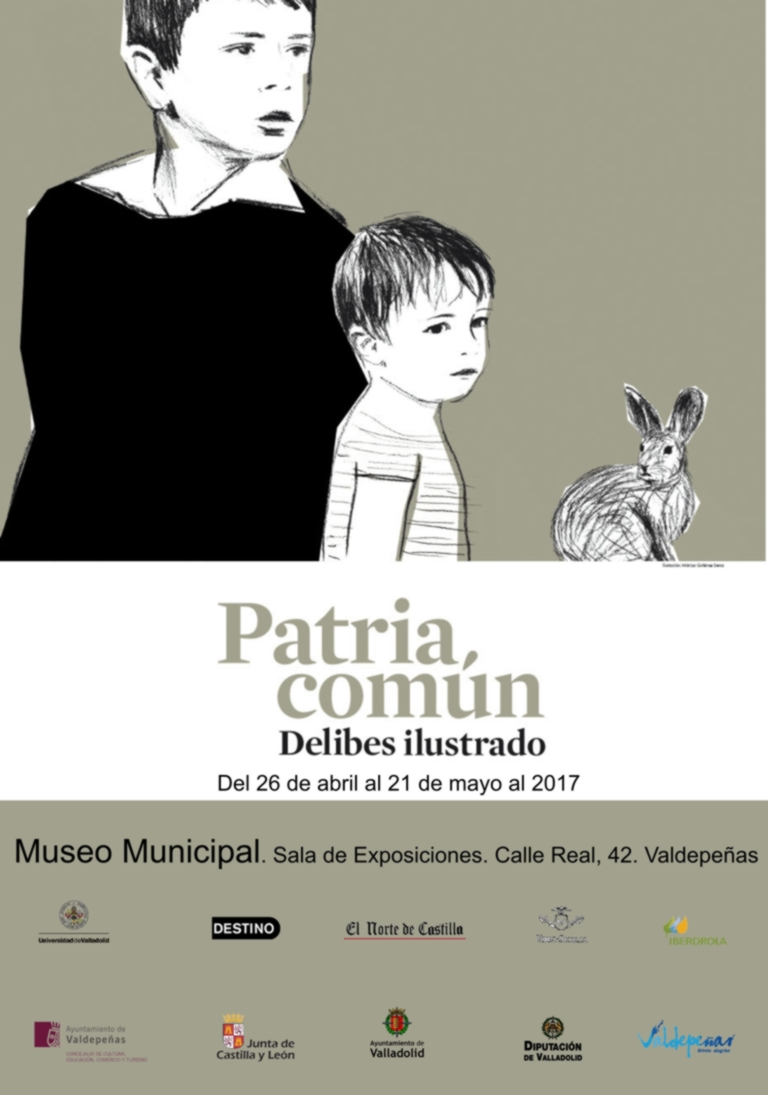"""Imagen de la actividad """"PATRIA COMÚN, DELIBES ILUSTRADO"""""""