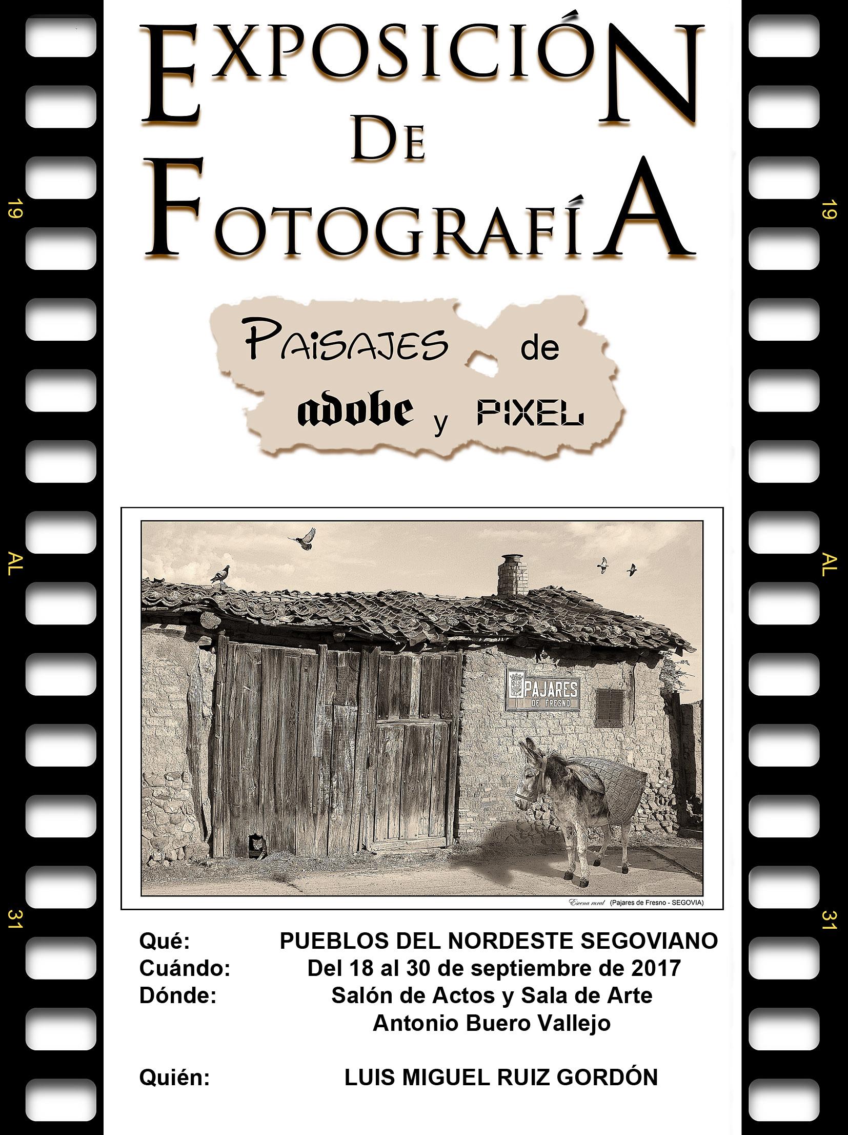 """Imagen de la actividad Exposición Temporal de Fotografía """"Paisajes de adobe y pixel"""""""