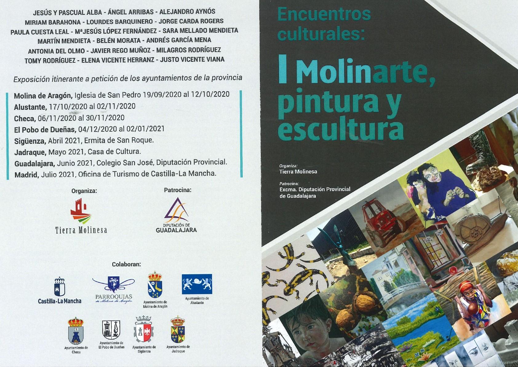 """Imagen de la actividad Exposición Temporal """"Encuentros culturales: I Molinarte, pintura y escultura"""""""