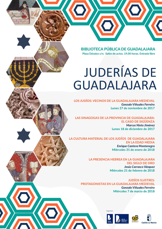 Imagen de la actividad La cultura material de los judíos en la Edad Media : Ciclo de conferencias Juderías de Guadalajara