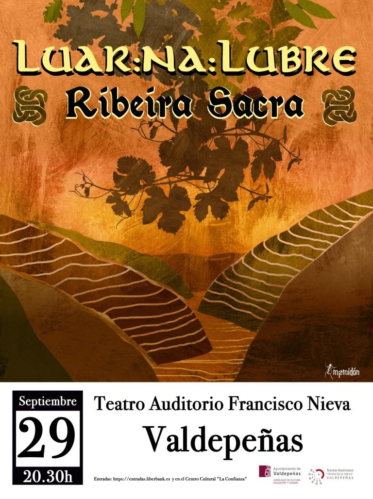 "Imagen de la actividad LUAR NA LUBRE"" presenta ""RIBEIRA SACRA"""