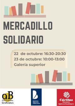 Imagen de la actividad Mercadillo Solidario de Libros