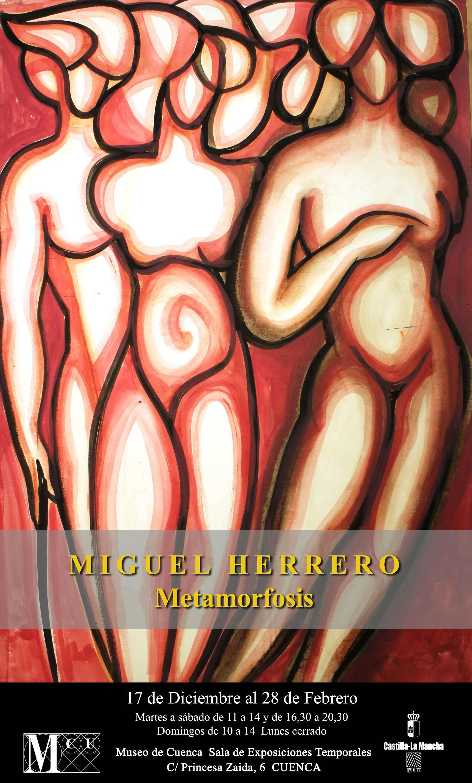Imagen de la actividad Miguel Herrero. Metamorfosis