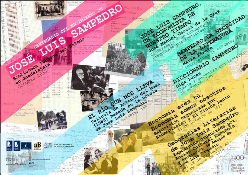 Imagen de la actividad Sampedro , La necesidad de la Literatura. Conferencia dentro de la conmemoración del Centenario de José Luis Sampedro