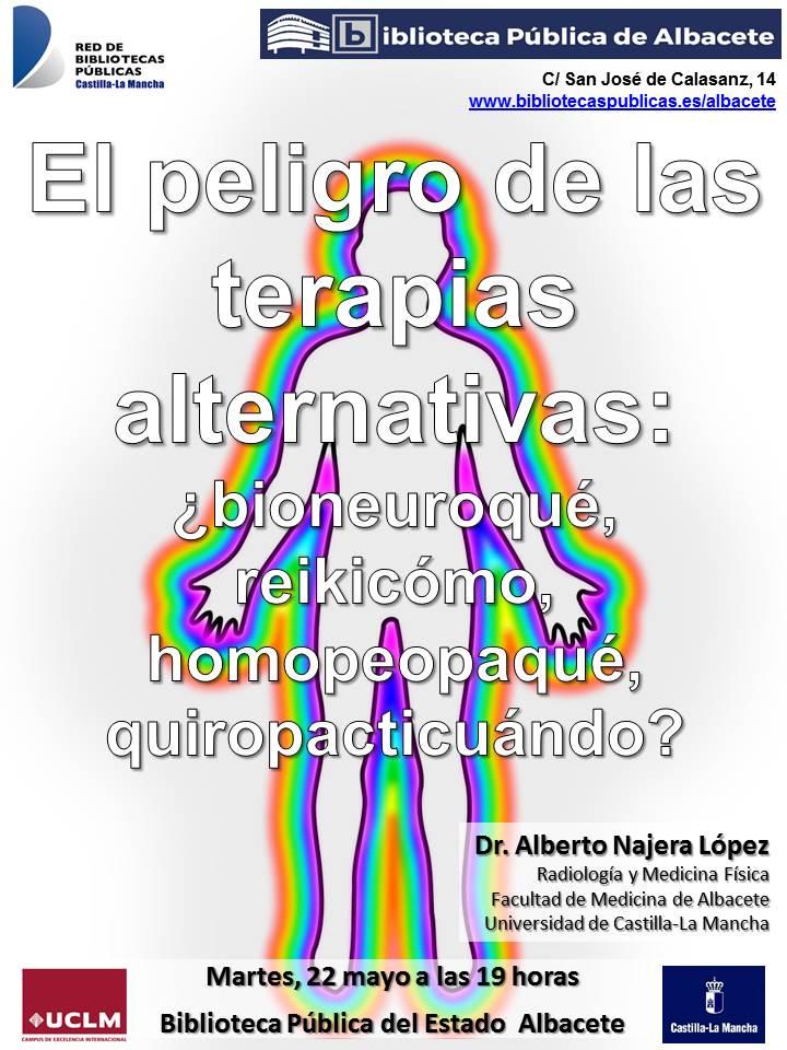 """Imagen de la actividad Conferencia """"El peligro de las pseudoterapias alternativas"""""""
