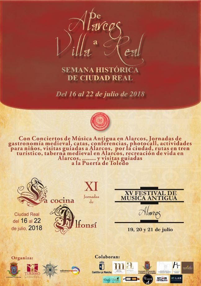 """Imagen de la actividad III Semana Histórica de Ciudad Real """"De Alarcos a Villa Real"""""""
