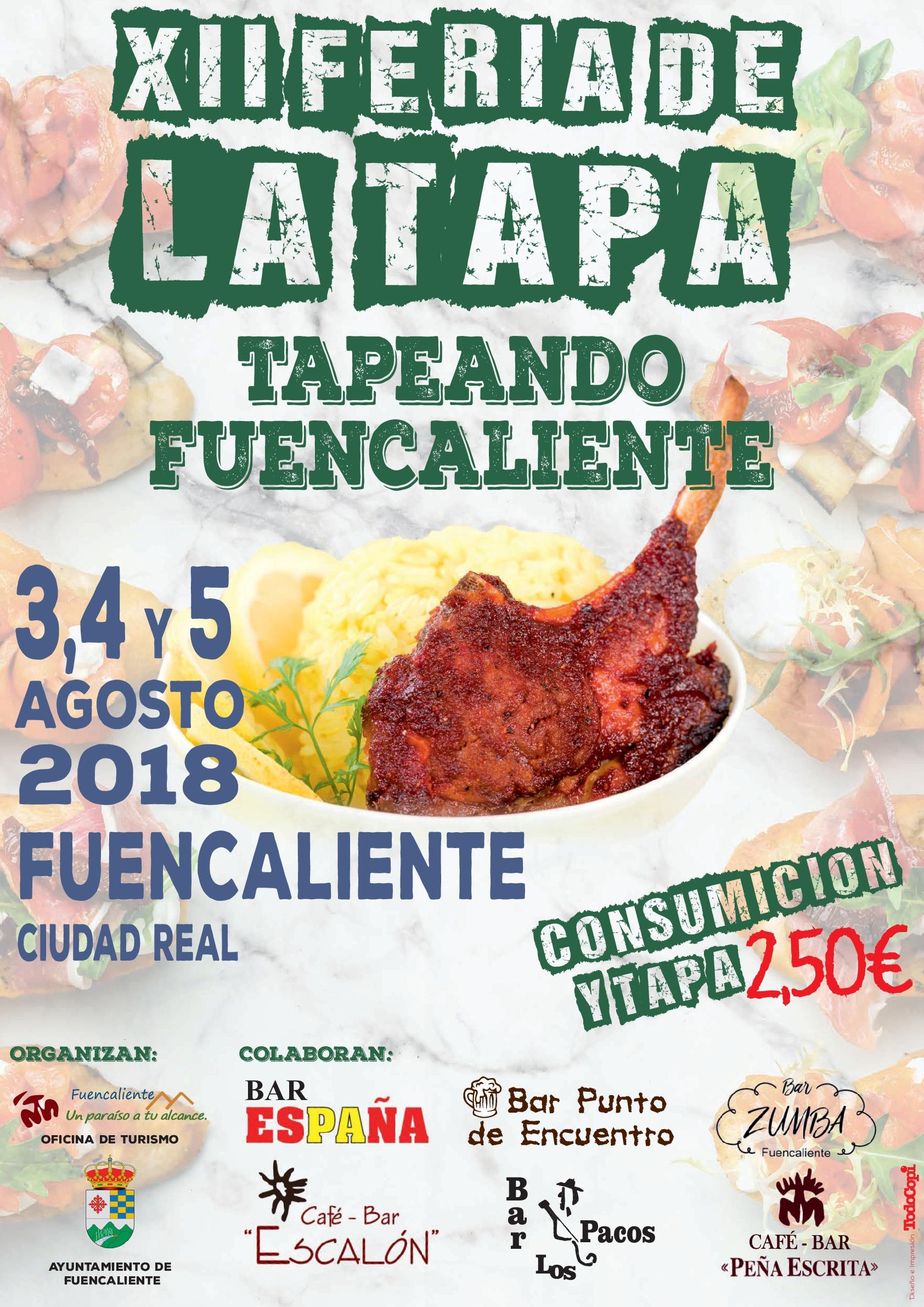 Imagen de la actividad TAPEANDO FUENCALIENTE! - XII FERIA DE LA TAPA