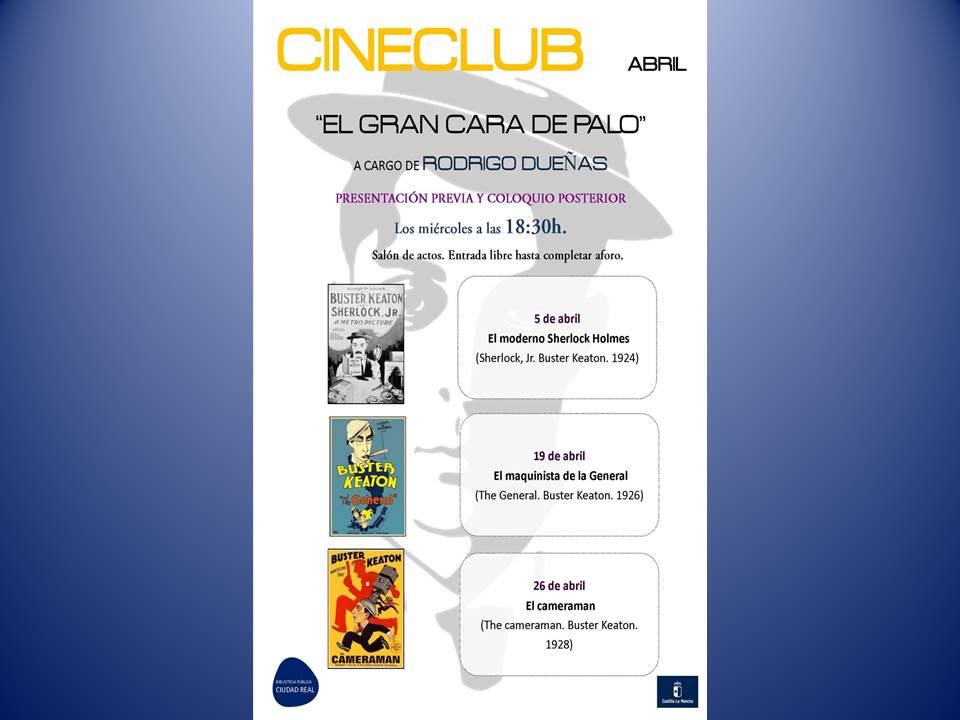 """Imagen de la actividad Cineclub: """"El gran cara de palo"""""""