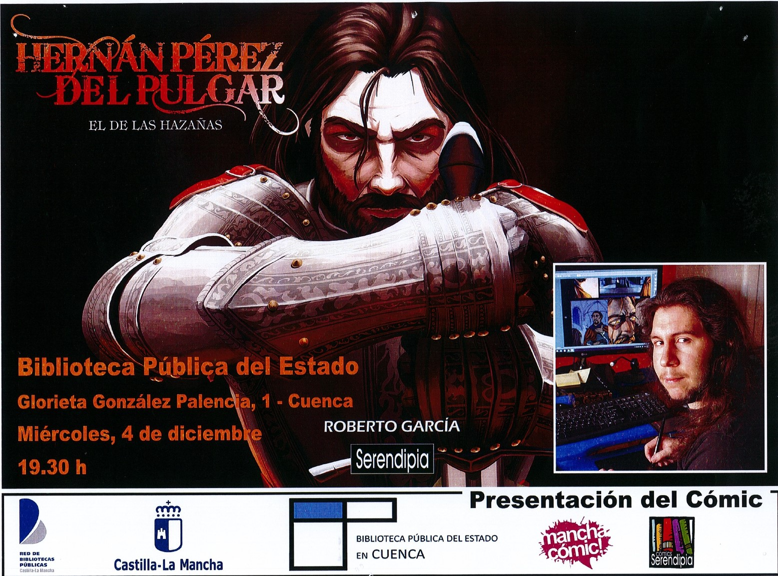 Imagen de la actividad Presentación del Cómic Hernán Pérez del Pulgar