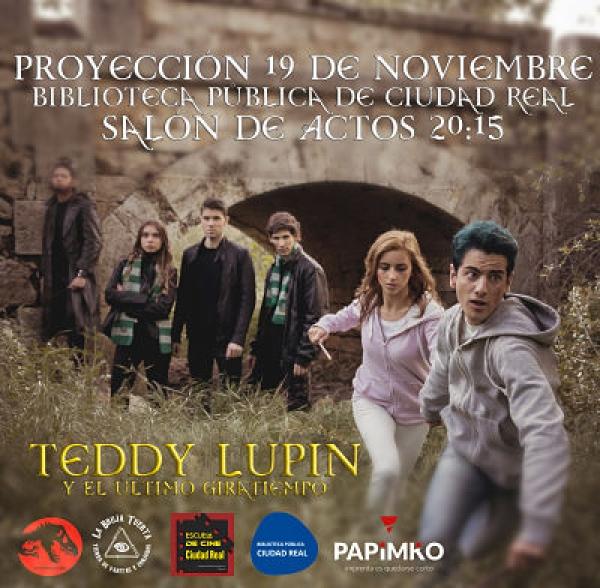 """Imagen de la actividad Proyección del Fan Film """"Teddy Lupin y el último Giratiempo"""""""