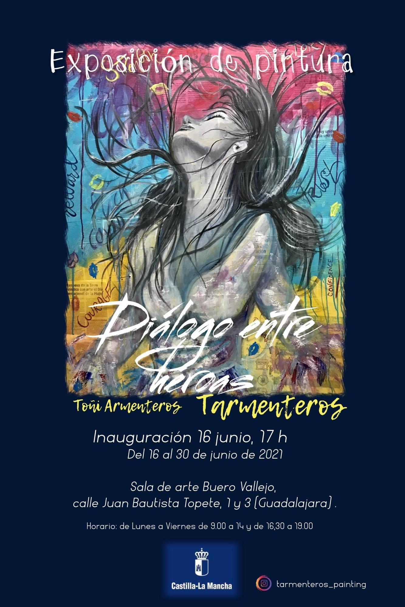 """Imagen de la actividad Exposición temporal de pintura """"DIÁLOGO ENTRE HÉROAS"""""""