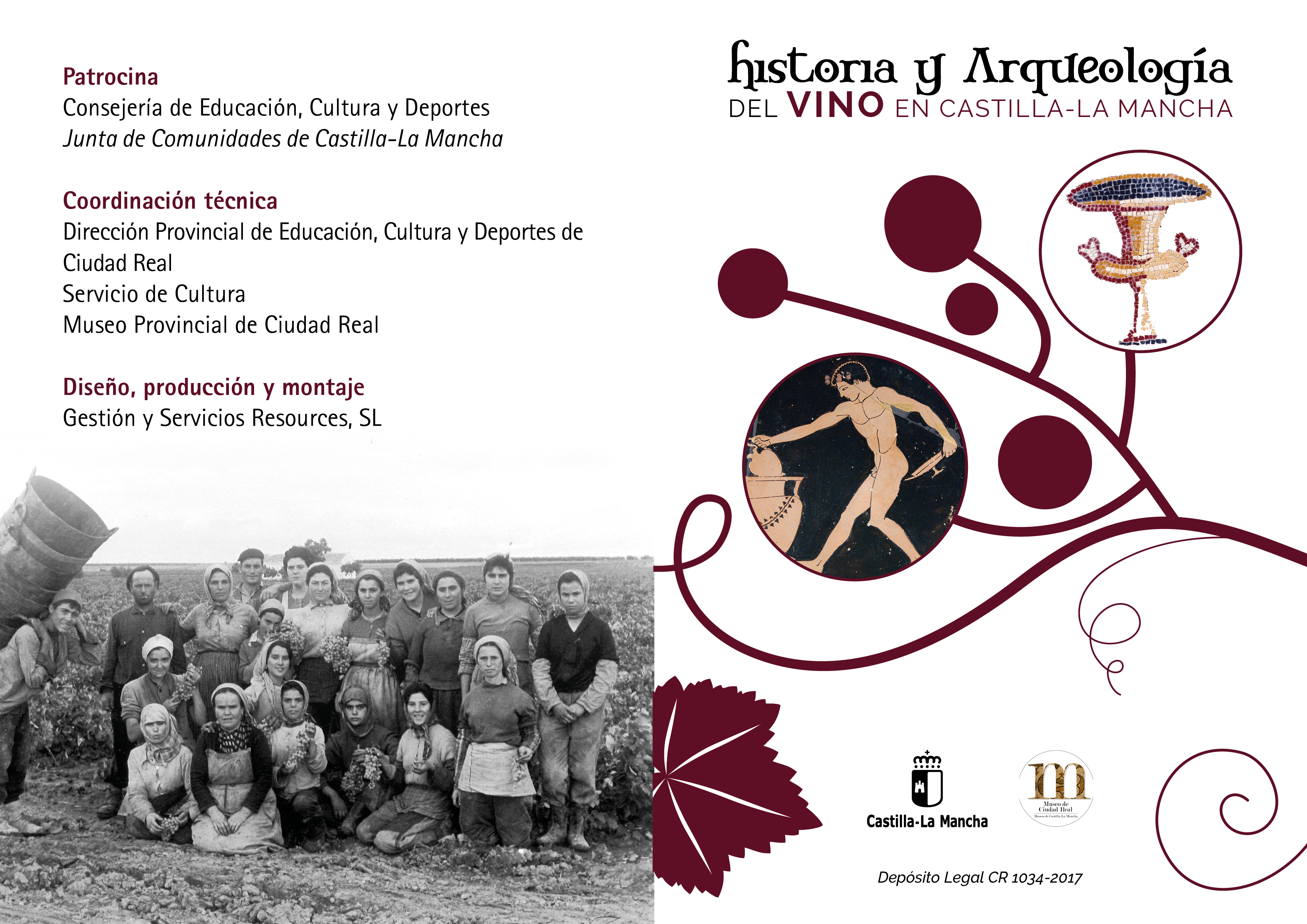 """Imagen de la actividad Exposición Temporal:"""" Historia y Arqueología del vino en Castilla–La Mancha."""""""