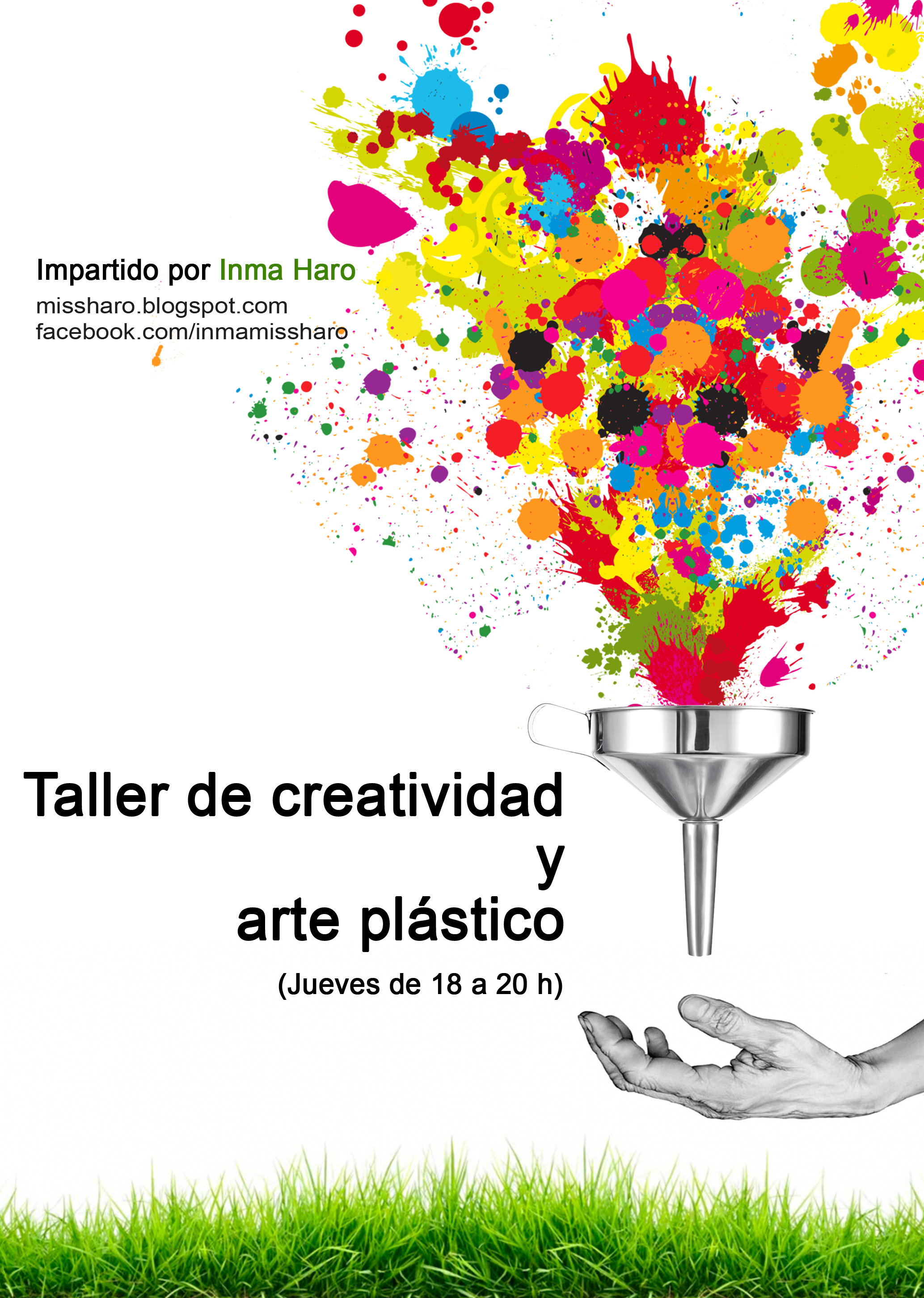 Imagen de la actividad Plazo de inscripción Taller Creatividad y Arte plástico