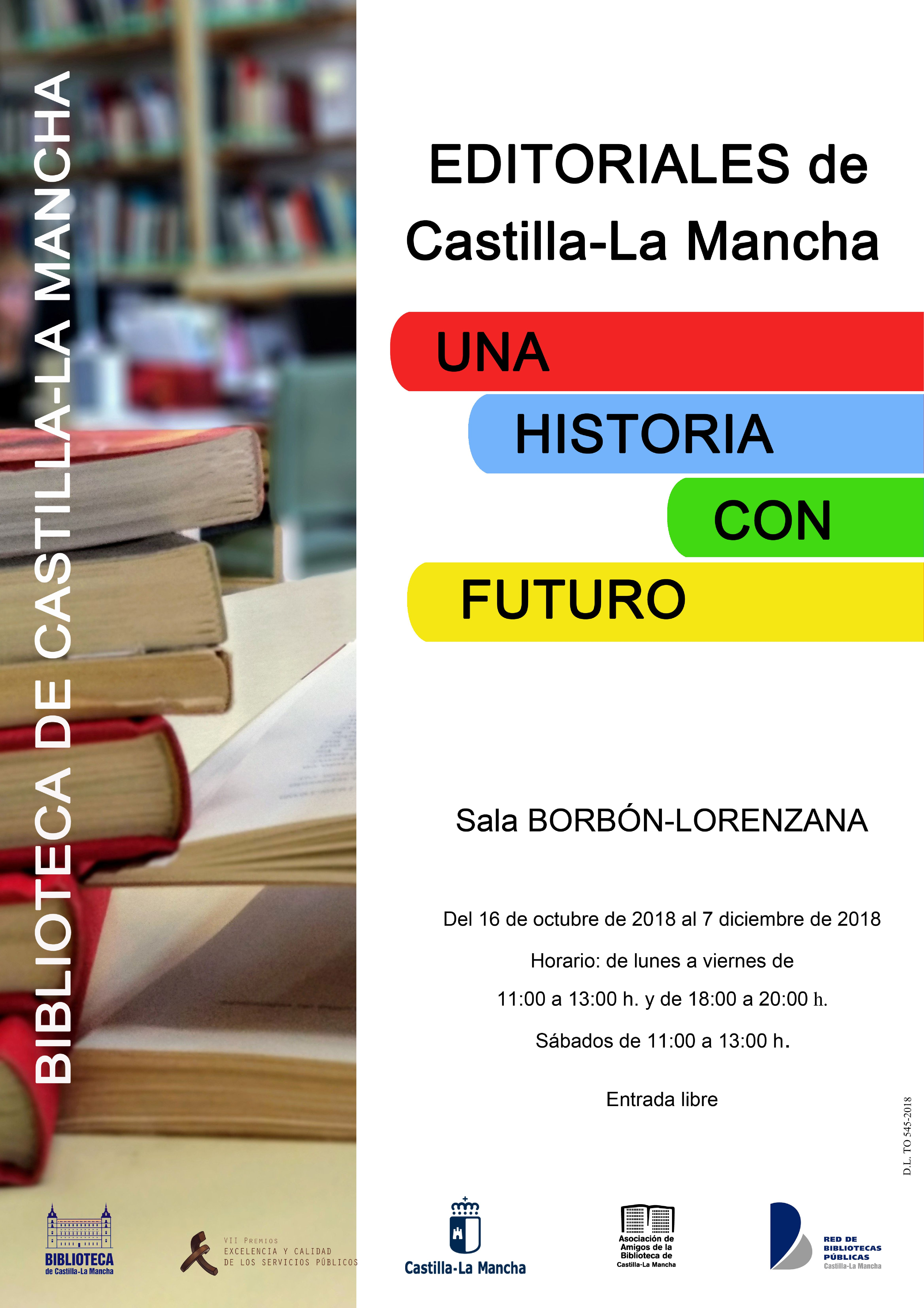 Imagen de la actividad Editoriales de Castilla–La Mancha. Una historia con futuro