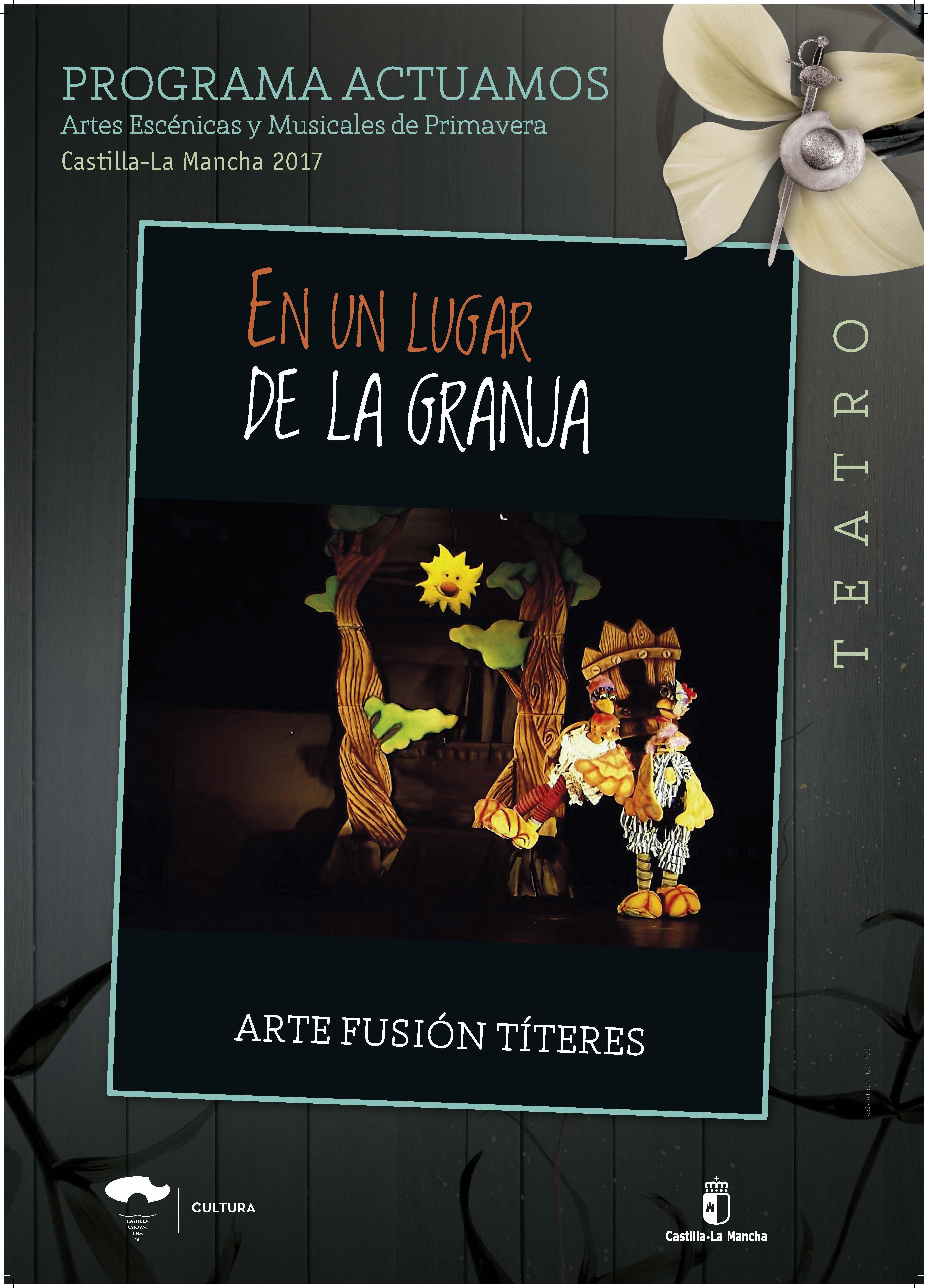 Imagen de la actividad EN UN LUGAR DE LA GRANJA (Arte Fusion Titeres)