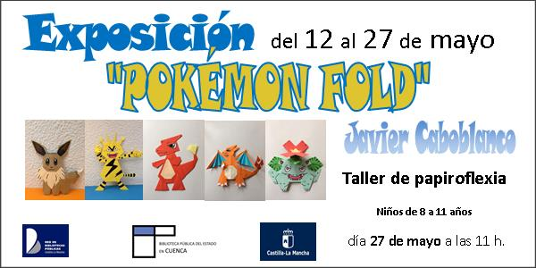 """Imagen de la actividad Exposición """"Pokémon Fold"""""""