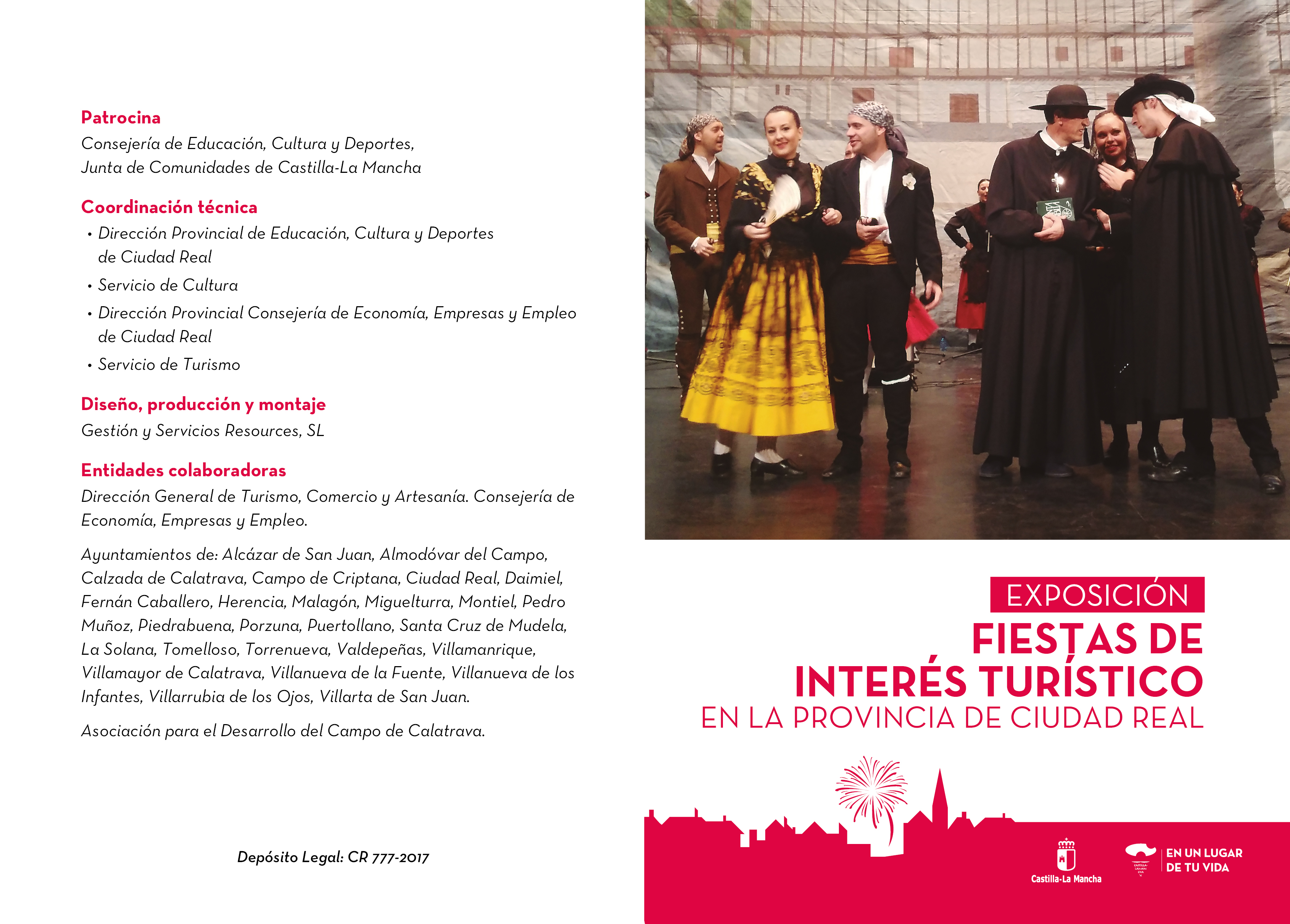 """Imagen de la actividad Exposición: """"Fiestas de Interés Turístico en la provincia de Ciudad Real""""."""