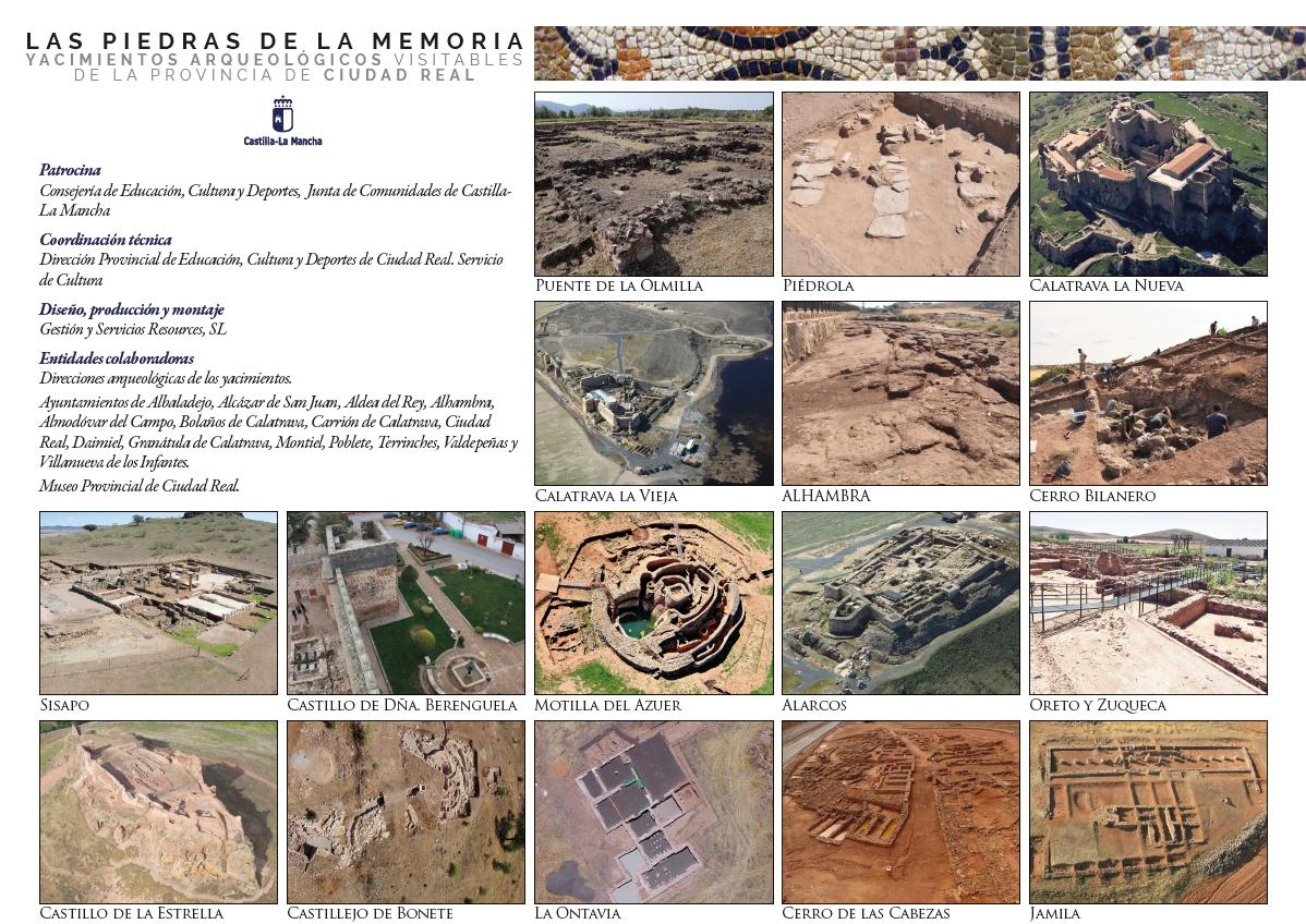 """Imagen de la actividad Exposición: """"Las piedras de la memoria. Yacimientos arqueológicos visitables de la provincia de Ciudad Real"""