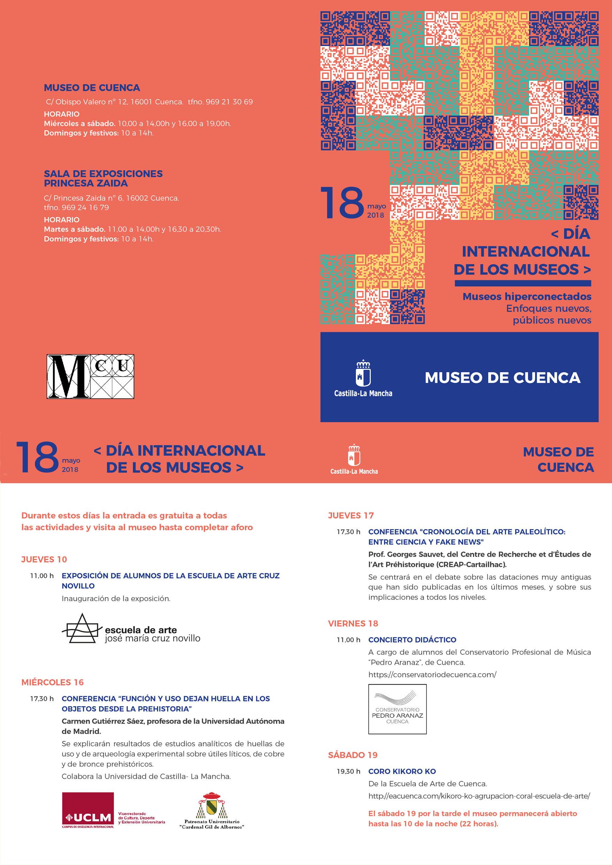 Imagen de la actividad DÍA INTERNACIONAL DE LOS MUSEOS