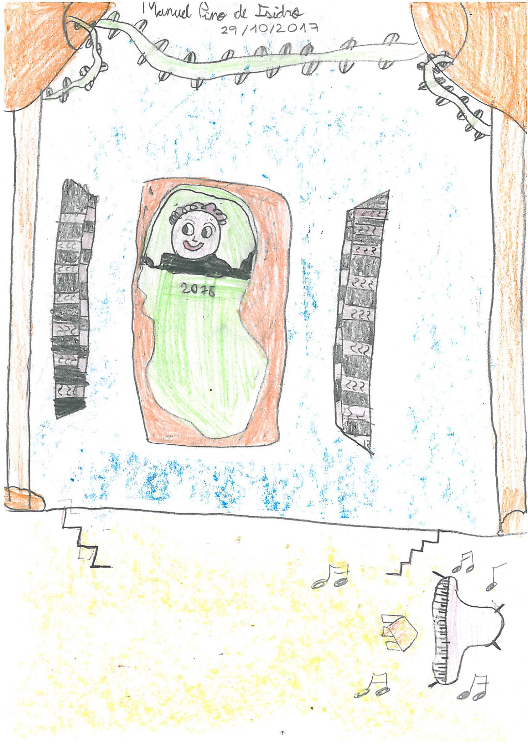 Imagen de la actividad La noche mágica dibujada por los más pequeños : exposición