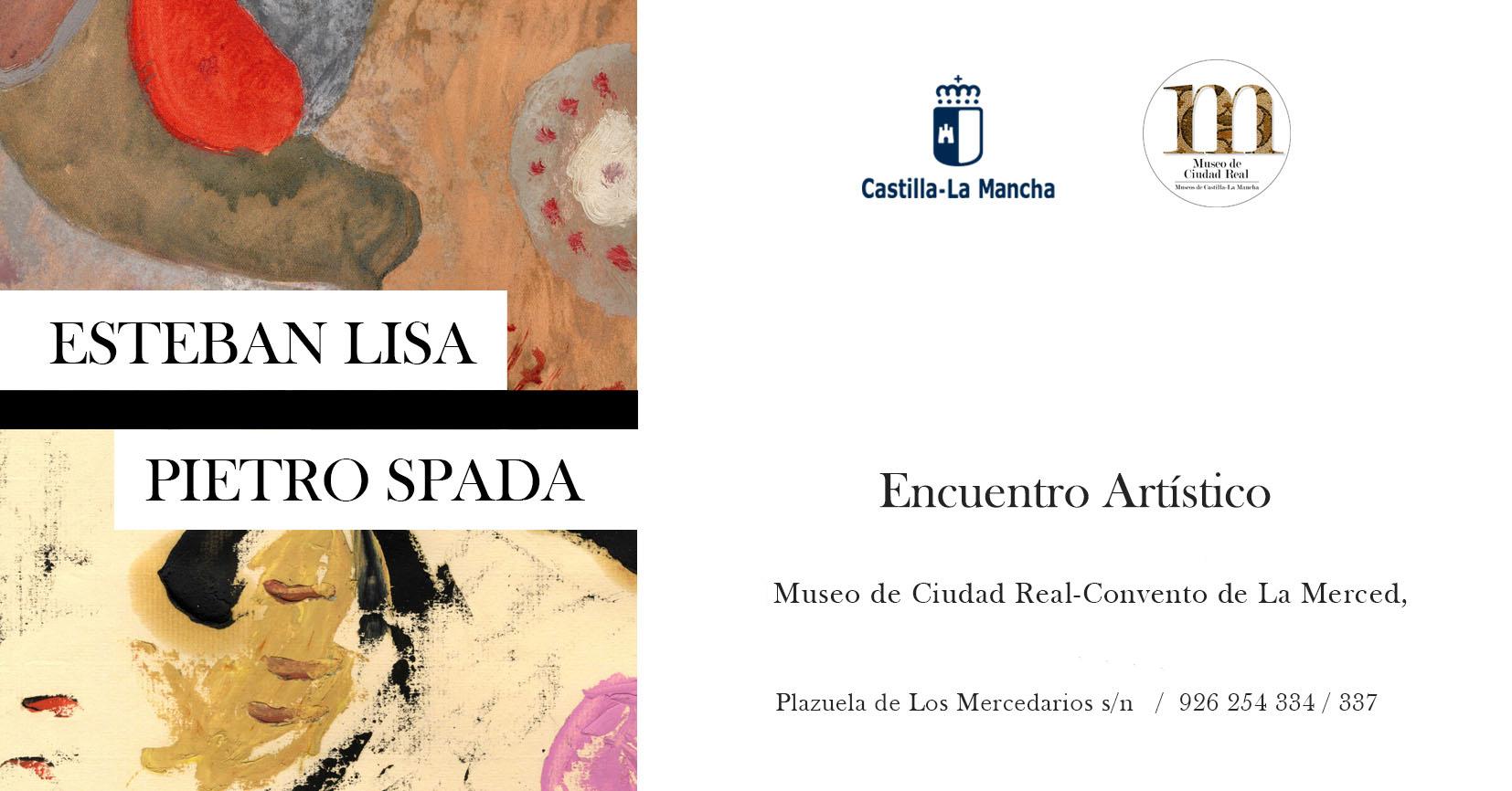 Imagen de la actividad Exposición Temporal: Encuentro artístico. Esteban Lisa/Pietro Spada
