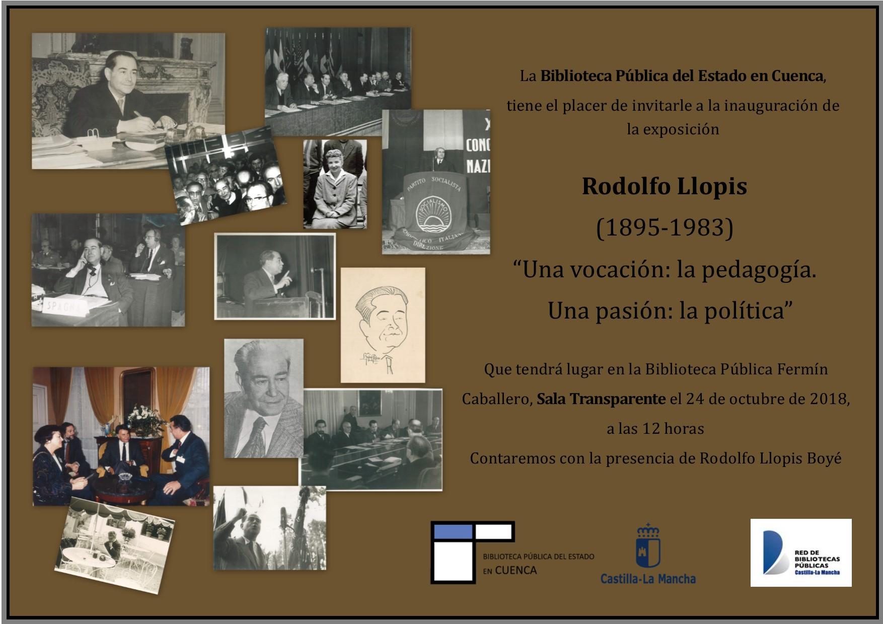 Imagen de la actividad Rodolfo Llopis (1895-1983)