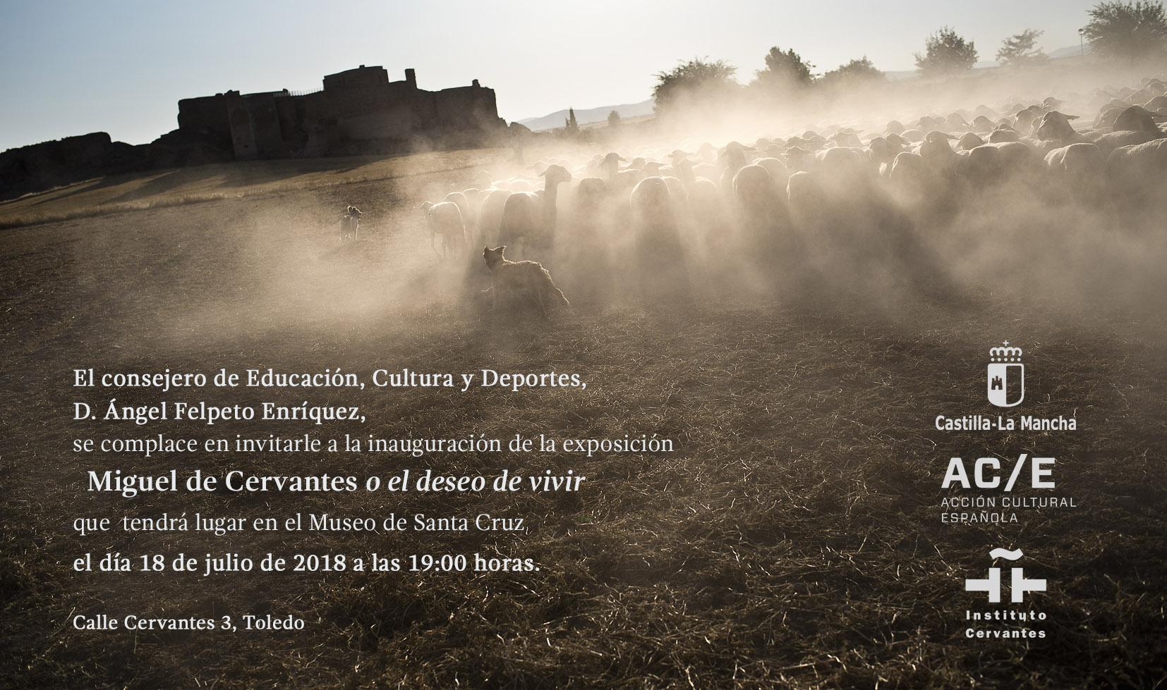 Imagen de la actividad Exposición fotográfica: Miguel de Cervantes o el deseo de vivir
