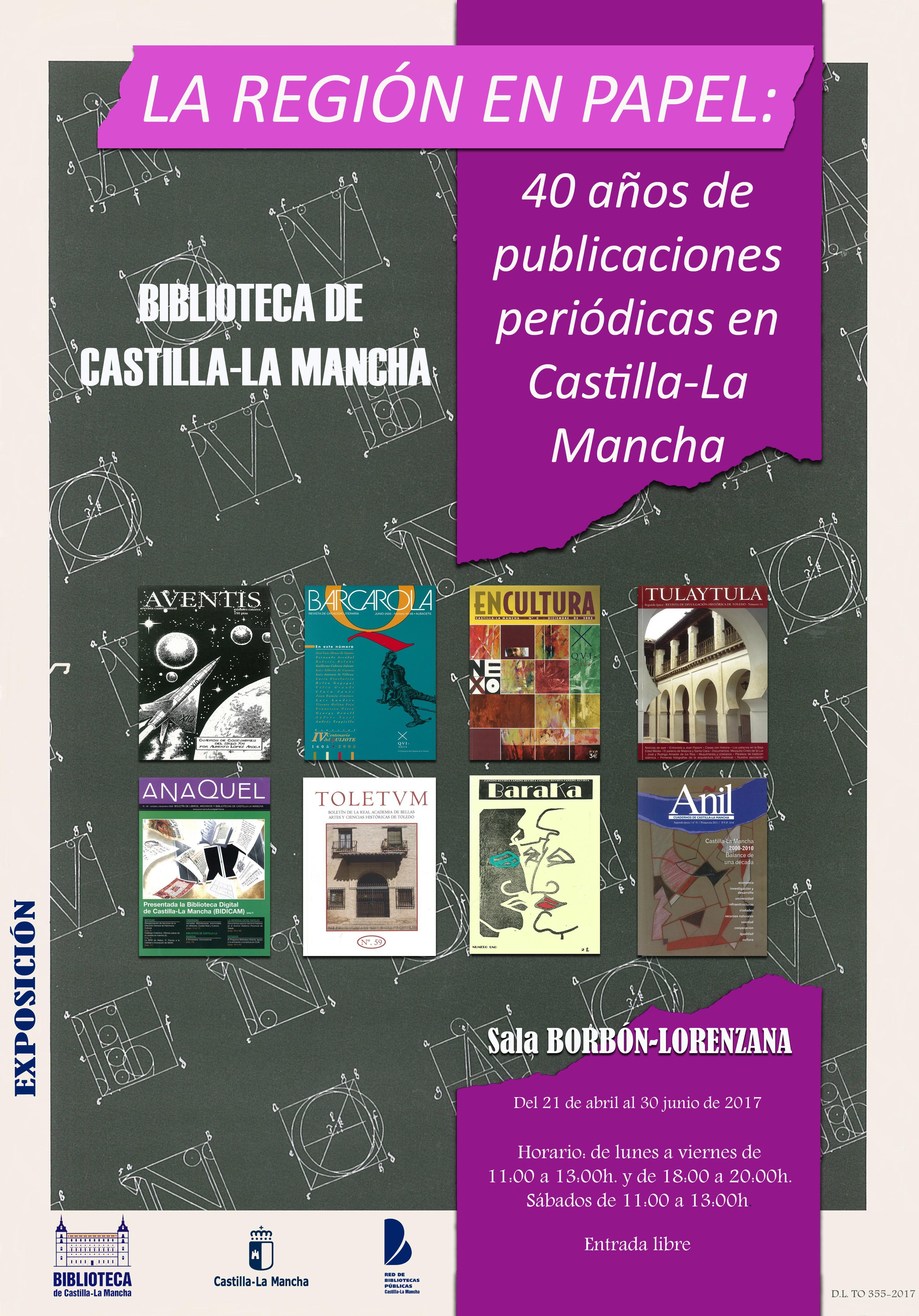 Imagen de la actividad La región en papel: 40 años de publicaciones periódicas en Castilla-La Mancha