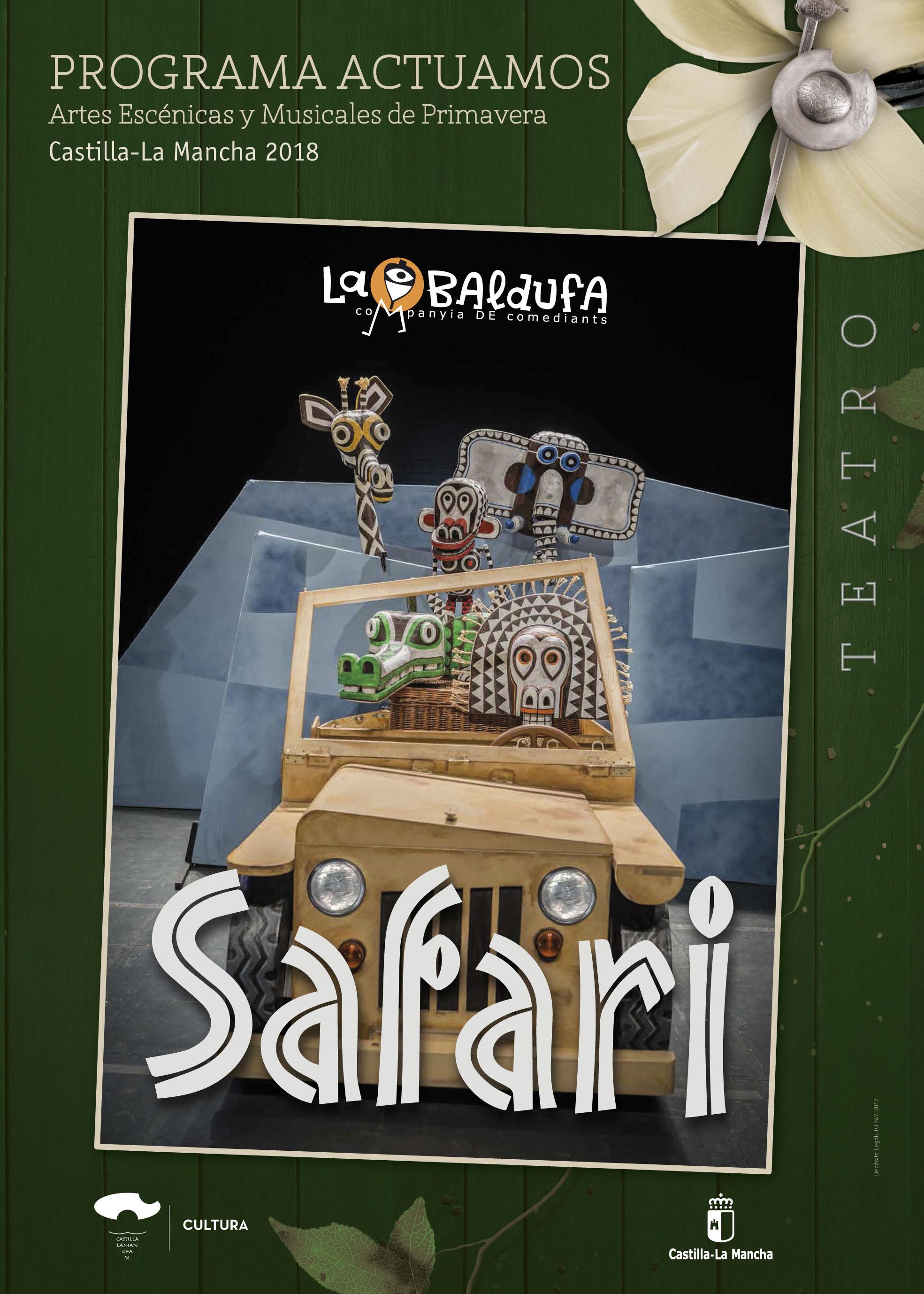 Imagen de la actividad SAFARI (Companyia de Comediants la Baldufa)