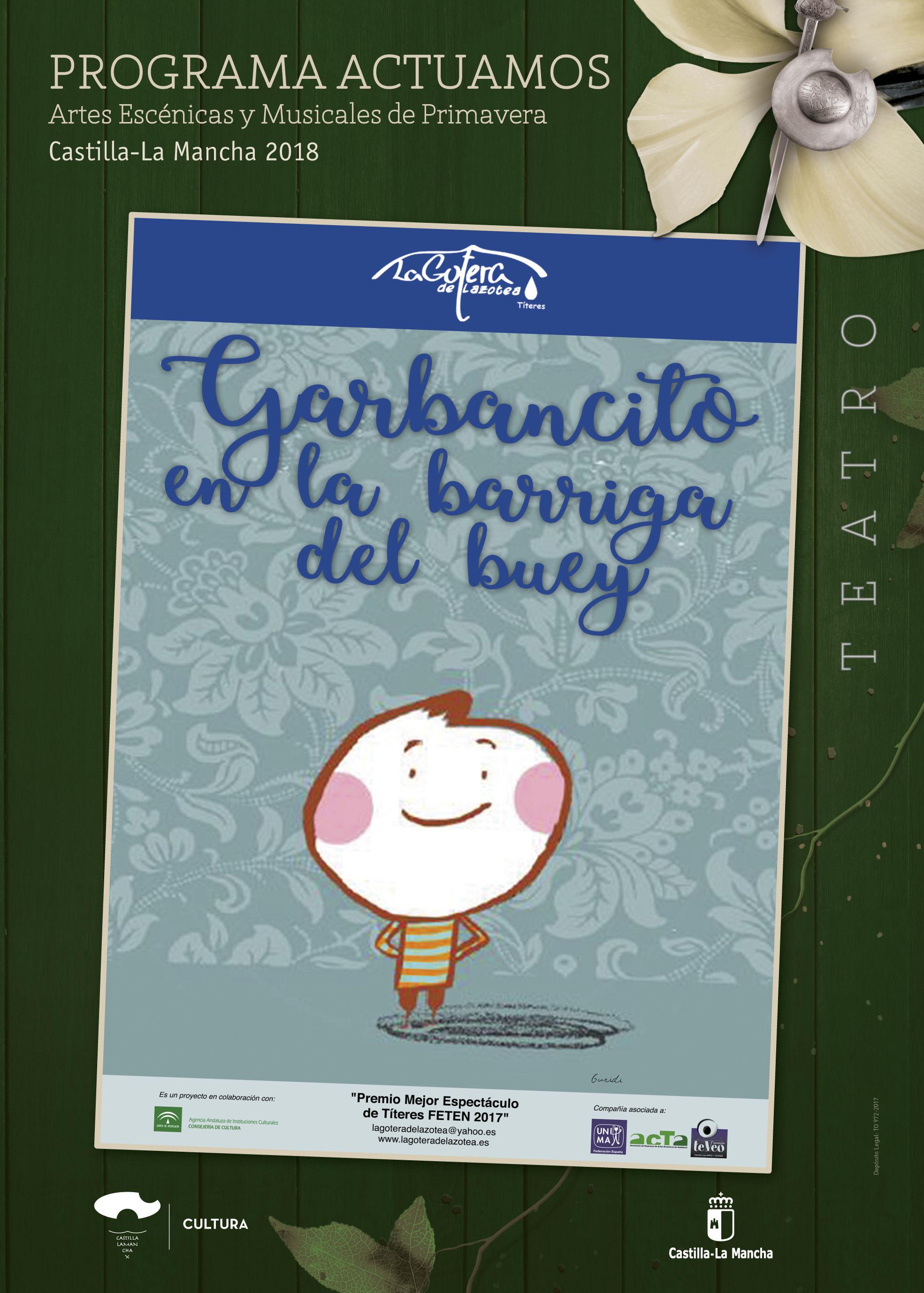 Imagen de la actividad GARBANCITO EN LA BARRIGA DEL BUEY (La Gotera de Lazotea)