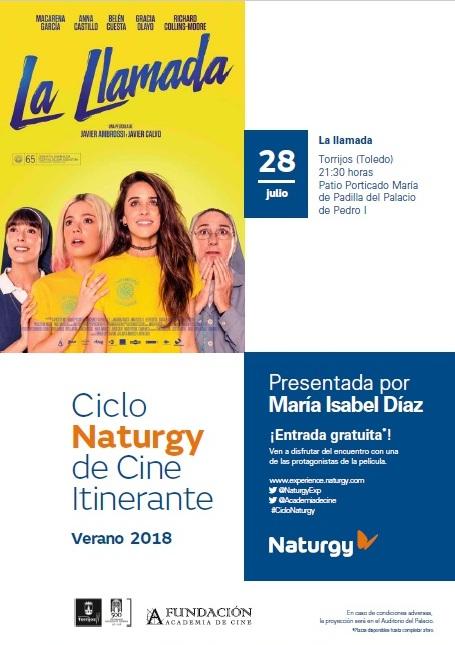 Imagen de la actividad La Llamada - Presentado por María Isabel Díaz